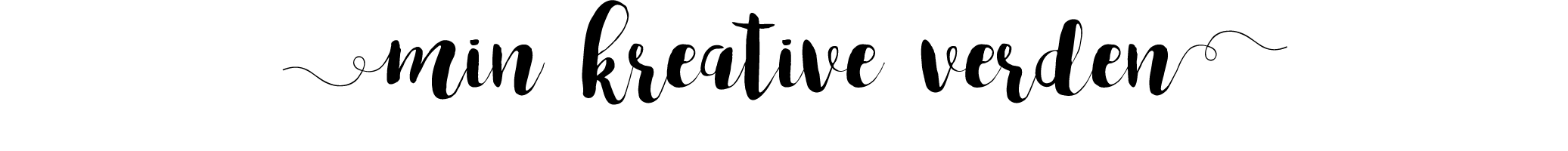 Min Kreative verden logo